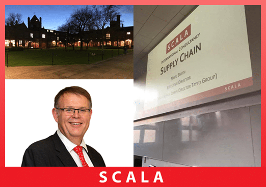 SCALA Executive Director Nigel Smith recently gave a lecture to undergraduates at Queens University