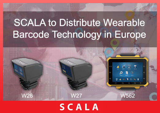 SCALA to Distribute Wearable Barcode Technology in Europe